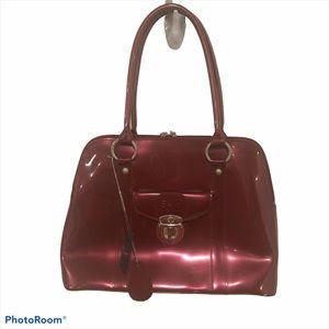Beijo maroon medium size purse